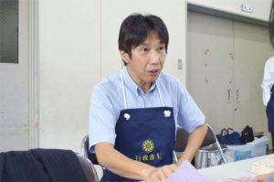 京都府行政書士会第4支部長石垣篤
